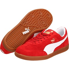 Red/gum sole Adidas. $55