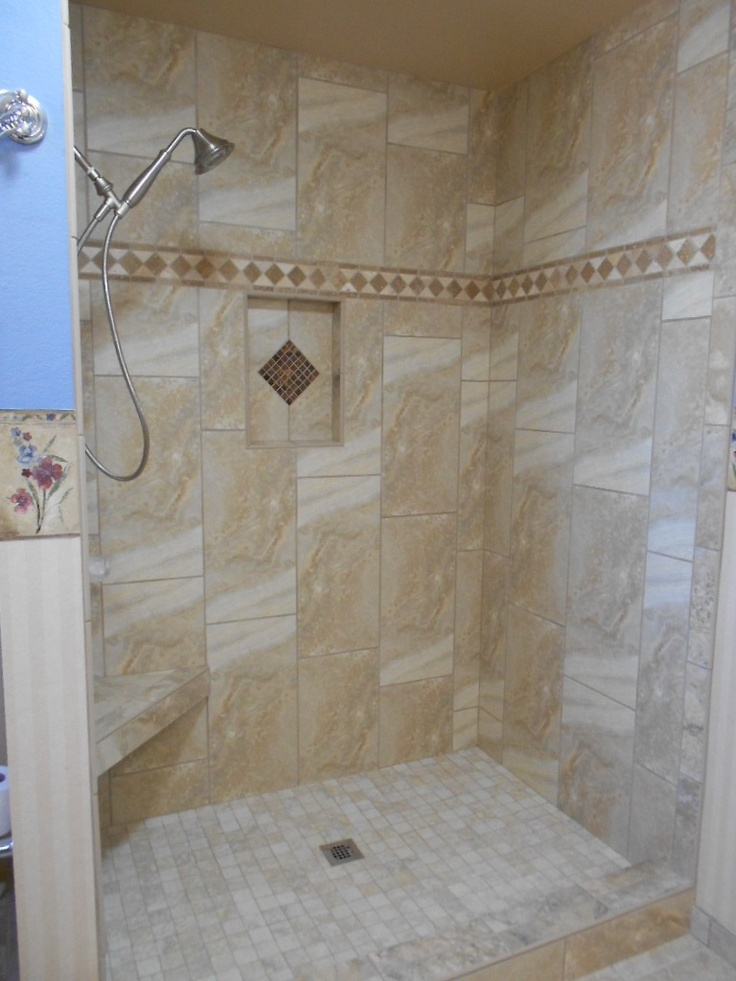 Shower Bathrooms Pinterest