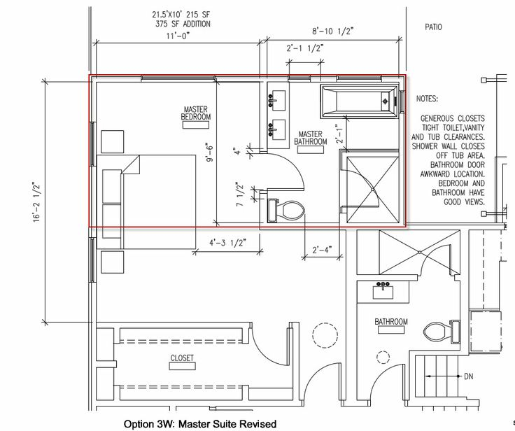 master suite addition plans master bath addition layout help