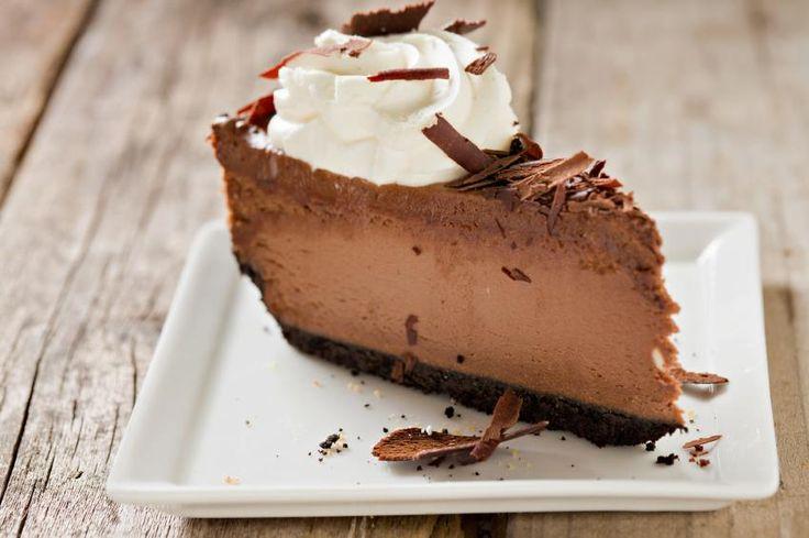 CHOCOLATE TRUFFLE CHEESECAKE 1 package Chocolate Microwave Fudge; 3 ...