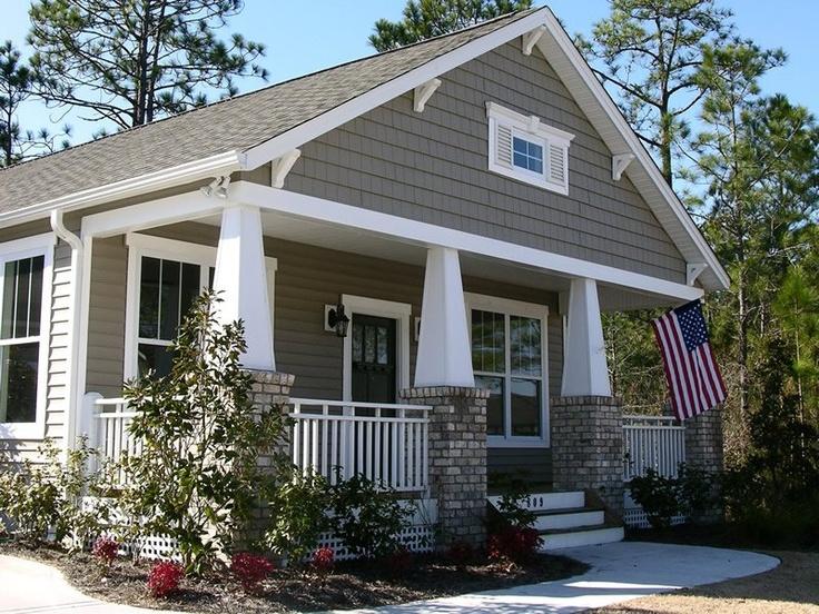 Bungalow craftsman cottage bungalow dream homes pinterest for Craftsman cottage homes