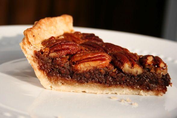 bourbon chocolate pecan pie | sweet endings | Pinterest