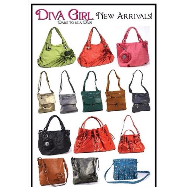 New Diva Girl Party Purses :) www.divagirlparty.com/mschopf you can ...