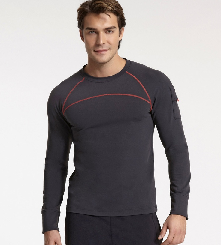 Men's Tops. As workout clothes, fitness apparel or for everyday activity, our compression shirts provide support for your shoulders, arms and core so comfortably, you may forget its compression apparel.