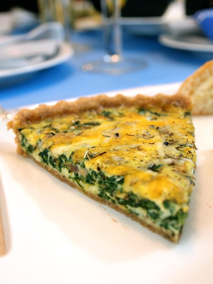 Spinach-Mushroom Quiche | Recipes | Pinterest