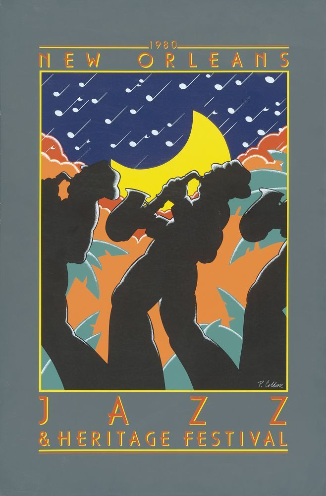 Pin by K. Simmons on N.O. Jazz Fest Posters | Pinterest