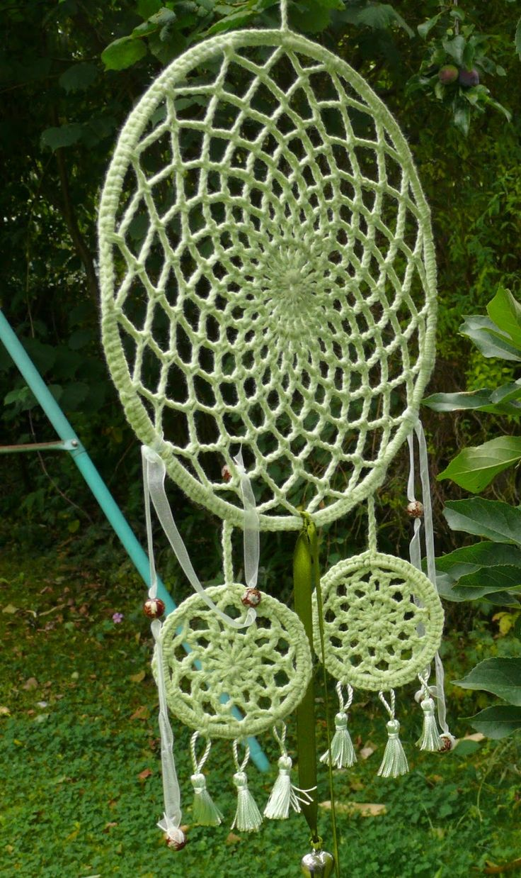 Crochet dream catcher craving the crochet Pinterest