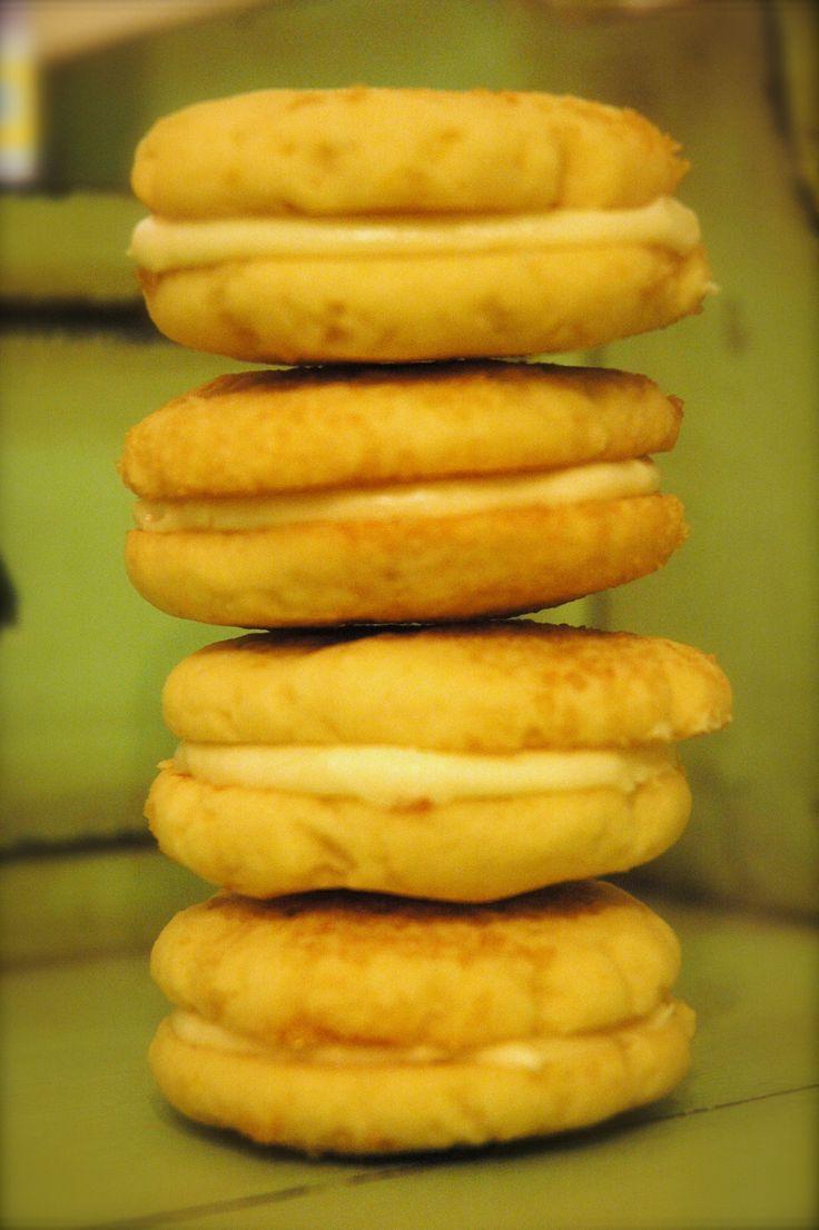 Lemon Sandwich Cookies With Triple Citrus Filling Recipe ...