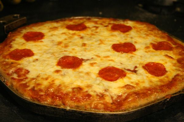 Gluten-free pizza - need to Paleo-ize it, but the crust sounds better ...