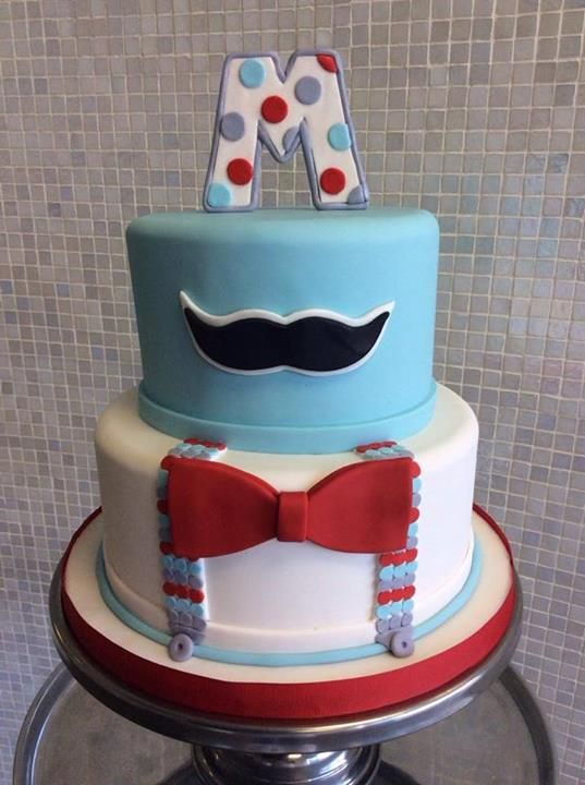 little man mustache cake baby shower cakes pinterest