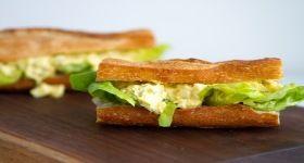Ella's Egg Salad Sandwich #goodlunchtips www.foodie.com