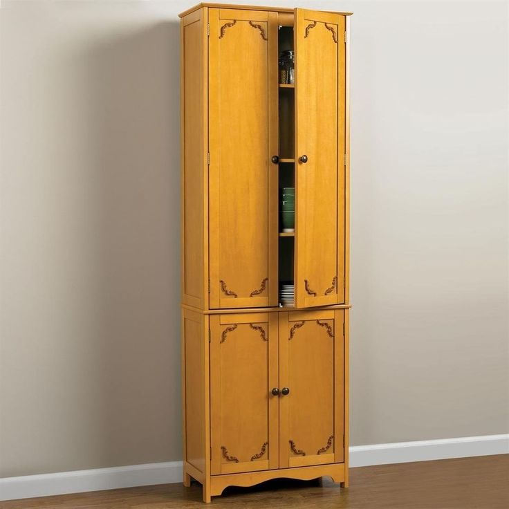 New extra tall kitchen cabinet pantry 6 foot cupboard storage organization - Tall kitchen storage cabinet ...