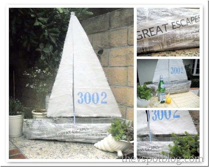 Sail through this easy to make boat