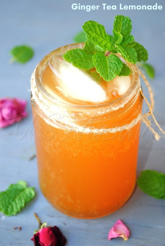 Ginger Tea Lemonade | Beverages | Pinterest