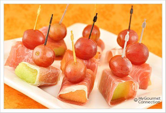 Prosciutto-Wrapped Melon | Recipe