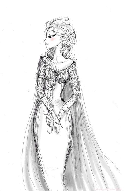 Disney's frozen :) | Cool drawings :) | Pinterest