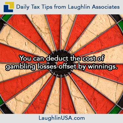 Can gambling losses be deducted on taxes