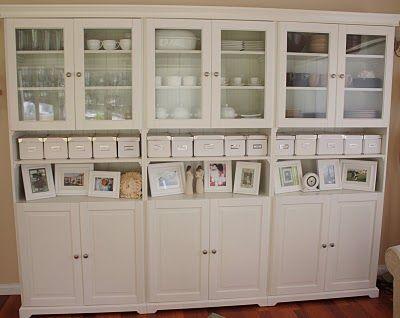Craft Storage Basement Inspiration Pinterest