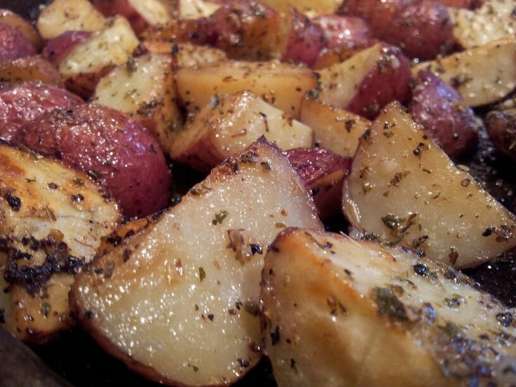 "Greek Potatoes with lemon vinaigrette. Yum! ~ recipe on my ""Inspiring ..."