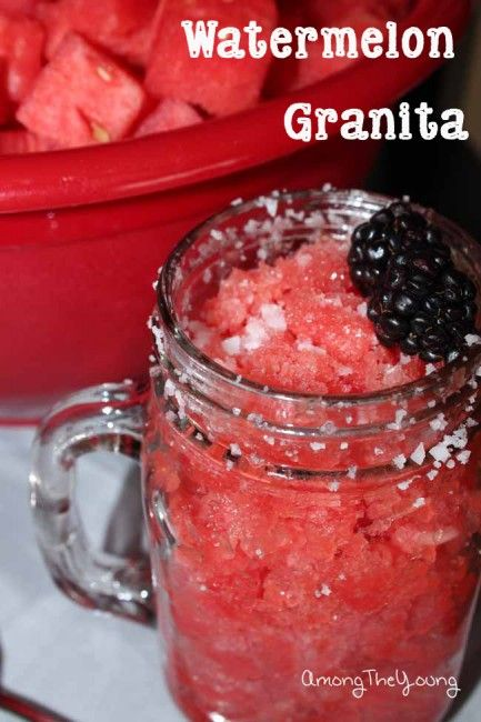 Watermelon Granita by AmongTheYoung | Drink & Be Merry- Mocktail Styl ...