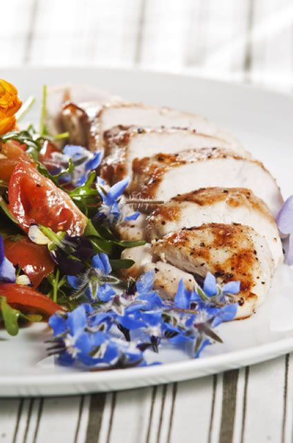 Apricot jam is the key ingredient in this chicken breast marinade and ...