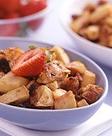 ... apples= an irresistible (and low-cal) Apple Brown Betty dessert. #