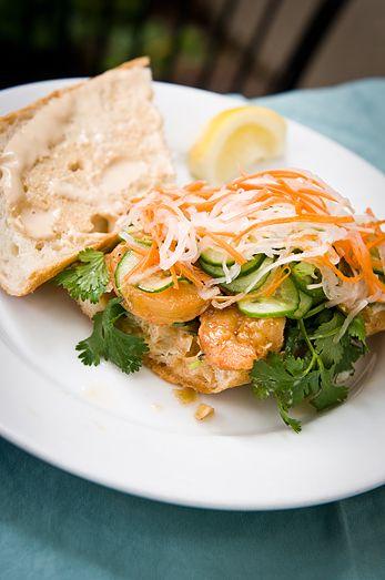 Vietnamese Caramel Shrimp Banh Mi Recipe — Dishmaps