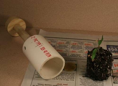 Diy soil blocker by the yard pinterest for Soil block maker