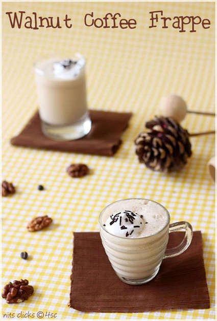 DRINKRECIPE - Walnut Coffee Frappe | Hummmmm Coffee!!!! | Pinterest