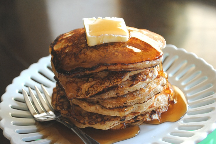 Oatmeal Cookie Pancakes-can't wait to make these for breakfast. Will ...