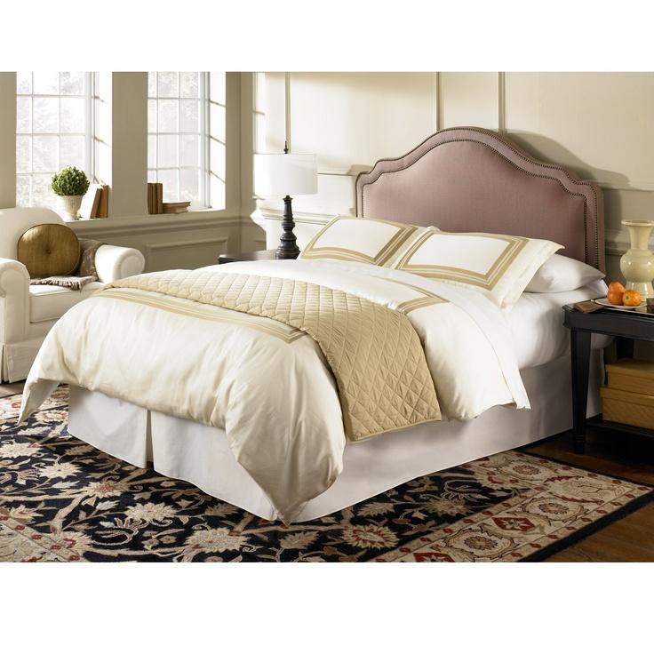 Upholstered headboard master bedroom ideas pinterest for Bedroom ideas with upholstered headboards