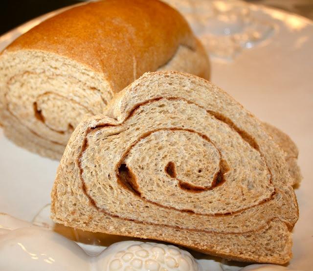 Honey Whole Wheat Bread and Whole Wheat Cinnamon Swirl Bread