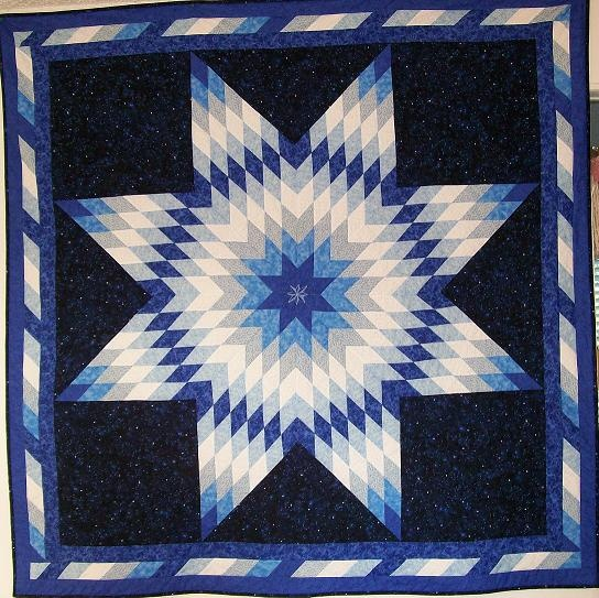 Quilting Pattern For Lone Star : Lone Star Quilt Quilts Pinterest