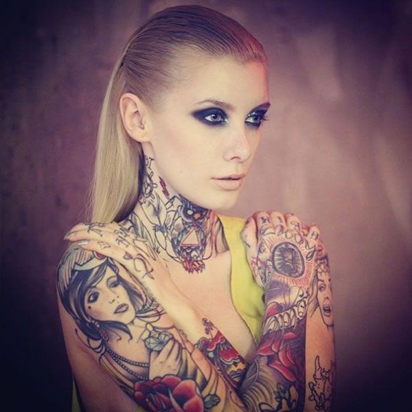 Tattoo Woman Getting: Pinterest