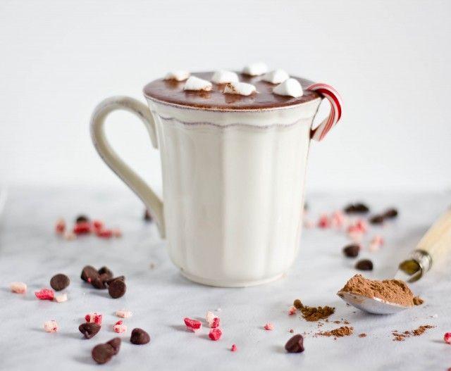 Peppermint Hot Chocolate | Coffee + Tea + Hot Chocolate | Pinterest