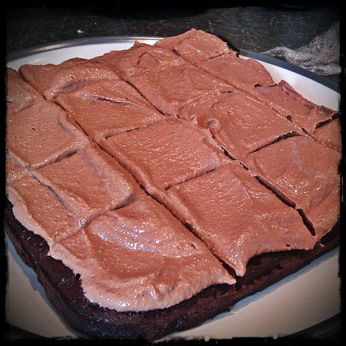 Healthy Chocolate Black Bean Cake