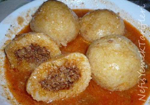Haslama icli kofte | Delicious Turkish Food | Pinterest