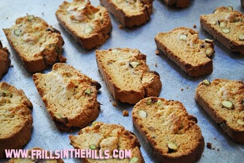 Lemon Pistachio biscotti | My recipes # 2 | Pinterest