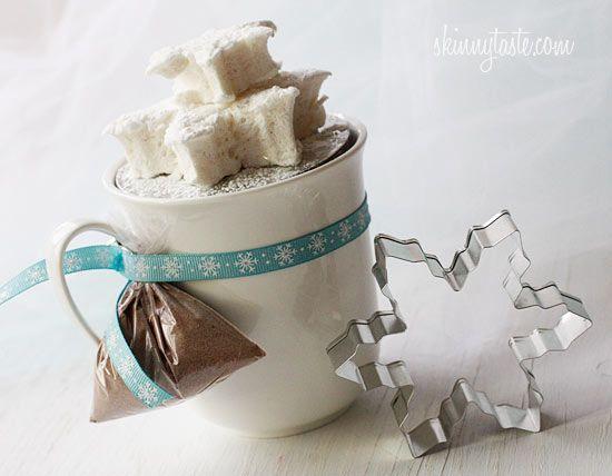 Homemade Vanilla Bean Agave Marshmallows