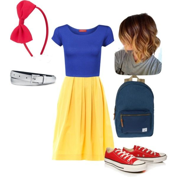 Snow White Inspired Disney Outfit! | Outfits | Pinterest