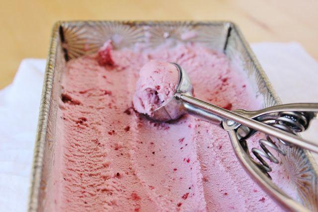sweet miscellany: Roasted Strawberry Coconut Milk Ice Cream