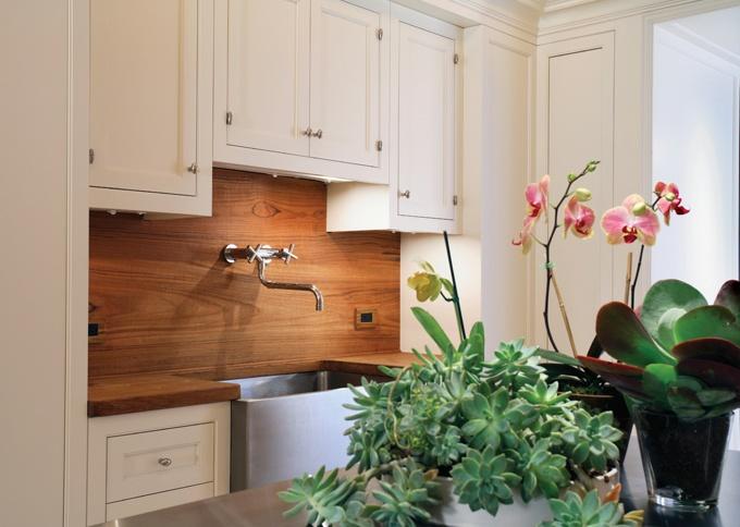 wood backsplash home pinterest