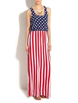american flag dress costume