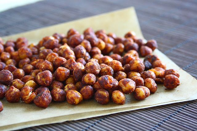 Pan-Fried Spiced Chickpeas | eat your veggies | Pinterest