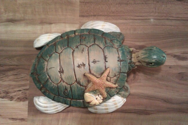 my sea turtle for my bathroom decor turtle house