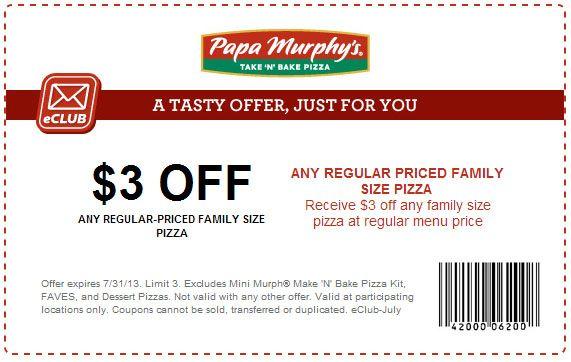 Papa murphys coupons 50 off