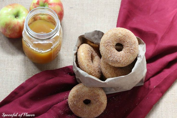 Baked Apple Cider Donuts - Spoonful of Flavor
