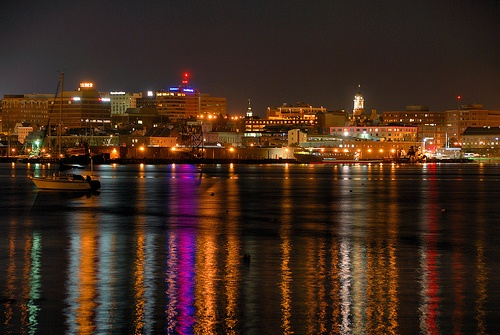 Portland, Maine Skyline | Home Sweet Maine. | Pinterest