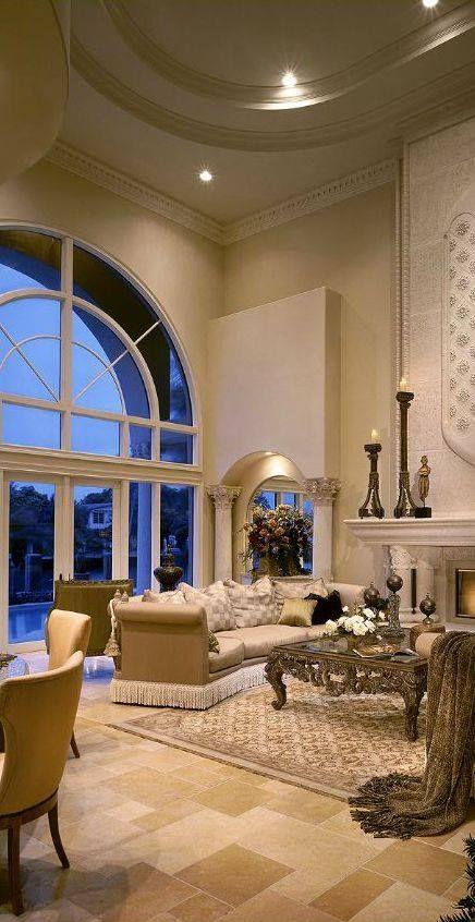 Monochromatic living room interior design pinterest for Monochromatic living room ideas