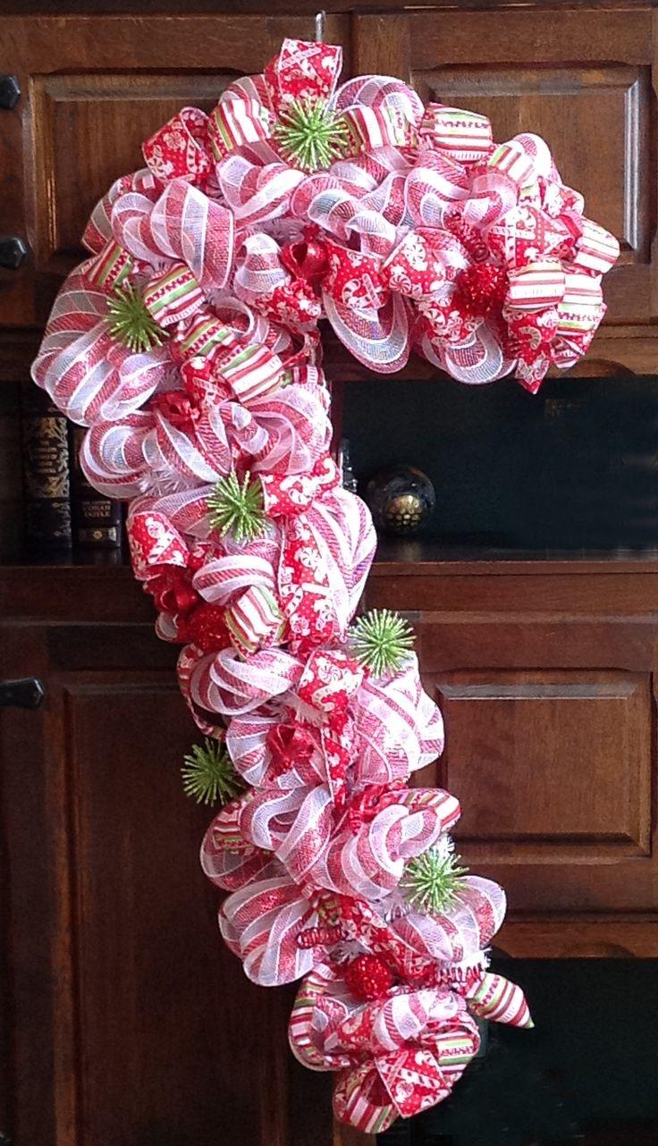 Deco mesh deco mesh deco mesh christmas pinterest for Deco decorations
